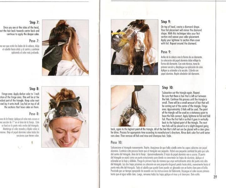Corrective Hair Color by Ann Marie Walts
