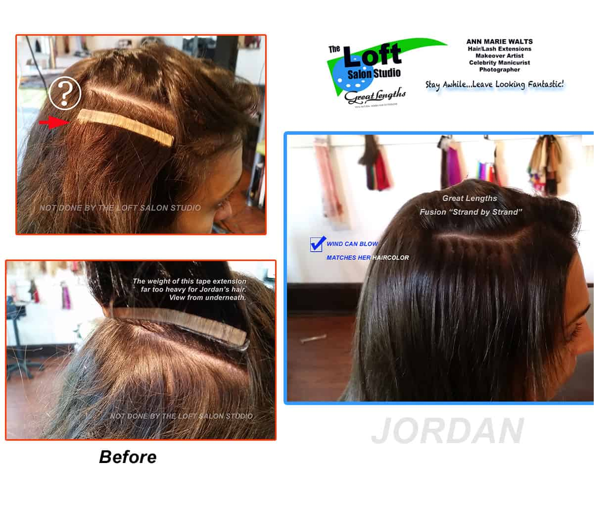 Bad Hair Extensions- Fix Damaged Hair