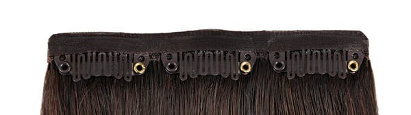 Real Human Hair Clip In Hair Extensions-Loft Salon Studio