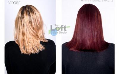 How To Go From Blonde To Red
