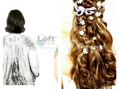 Wedding Or Prom Hair Extensions – Before & After
