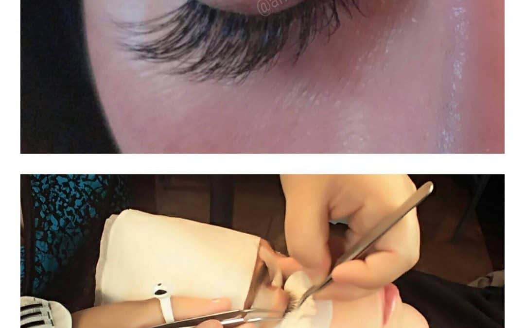 Lash Extension Application-Western Ma