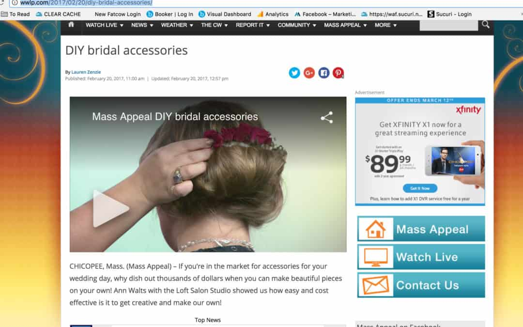 How To Create Bridal Hair Accesories
