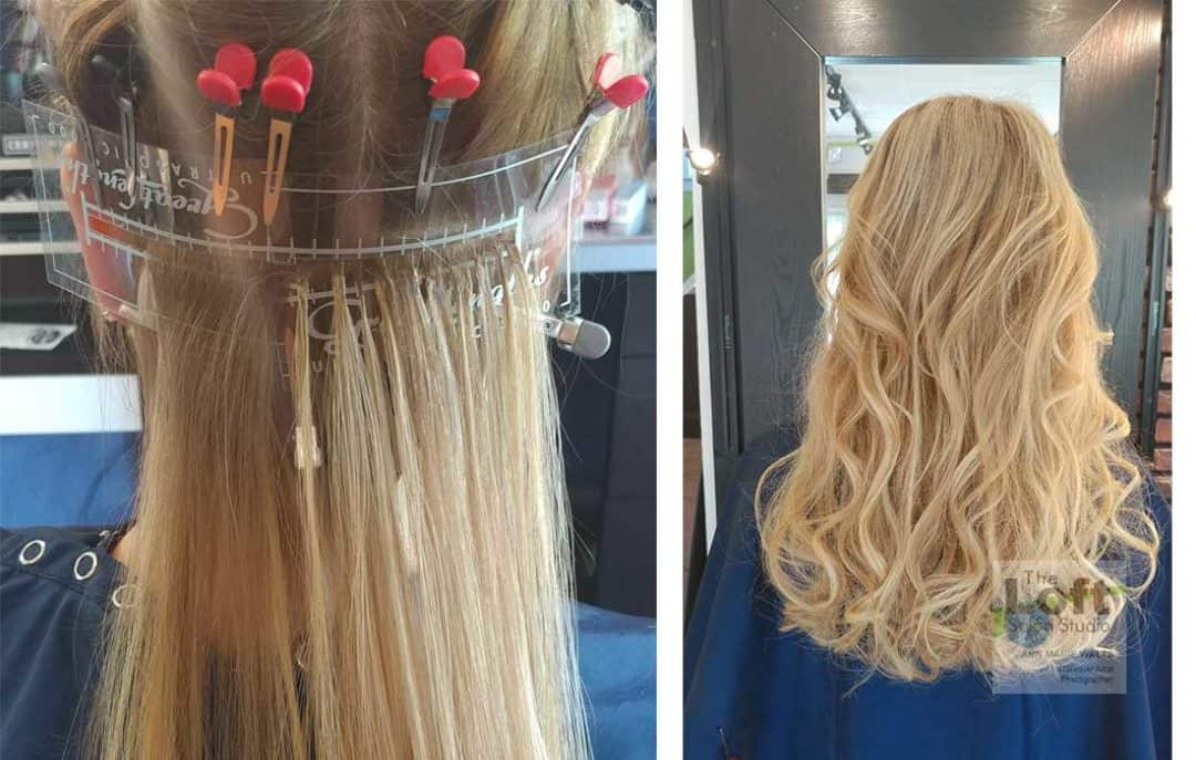 Seamless Blending  Hair Extensions