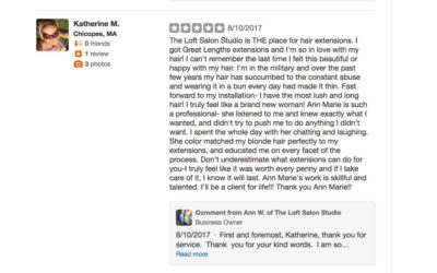 Reviews Of Loft Salon Studio -What Clients Are Saying!