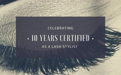 Certified Eyelash Extension Stylist – 10 Years