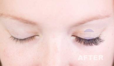 Before & After - Volume Lashes