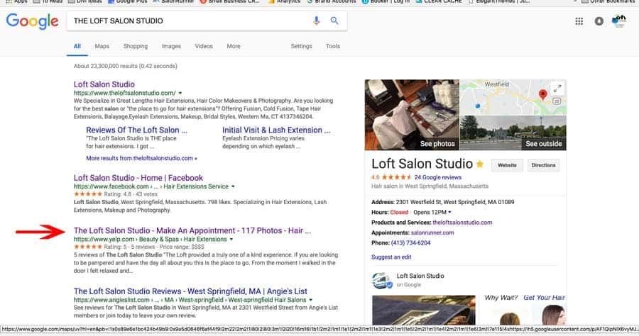 The Loft Salon Studio – Make An Appointment – NOT ON YELP