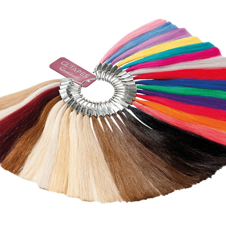 tape hair extensions-loft salon studio