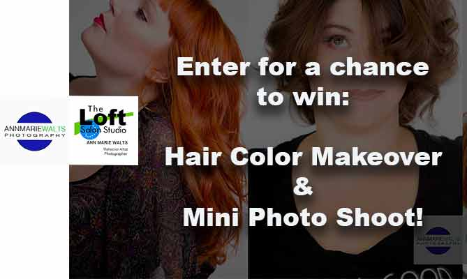 Win a Makeover & Headshot Shoot!  Value $800