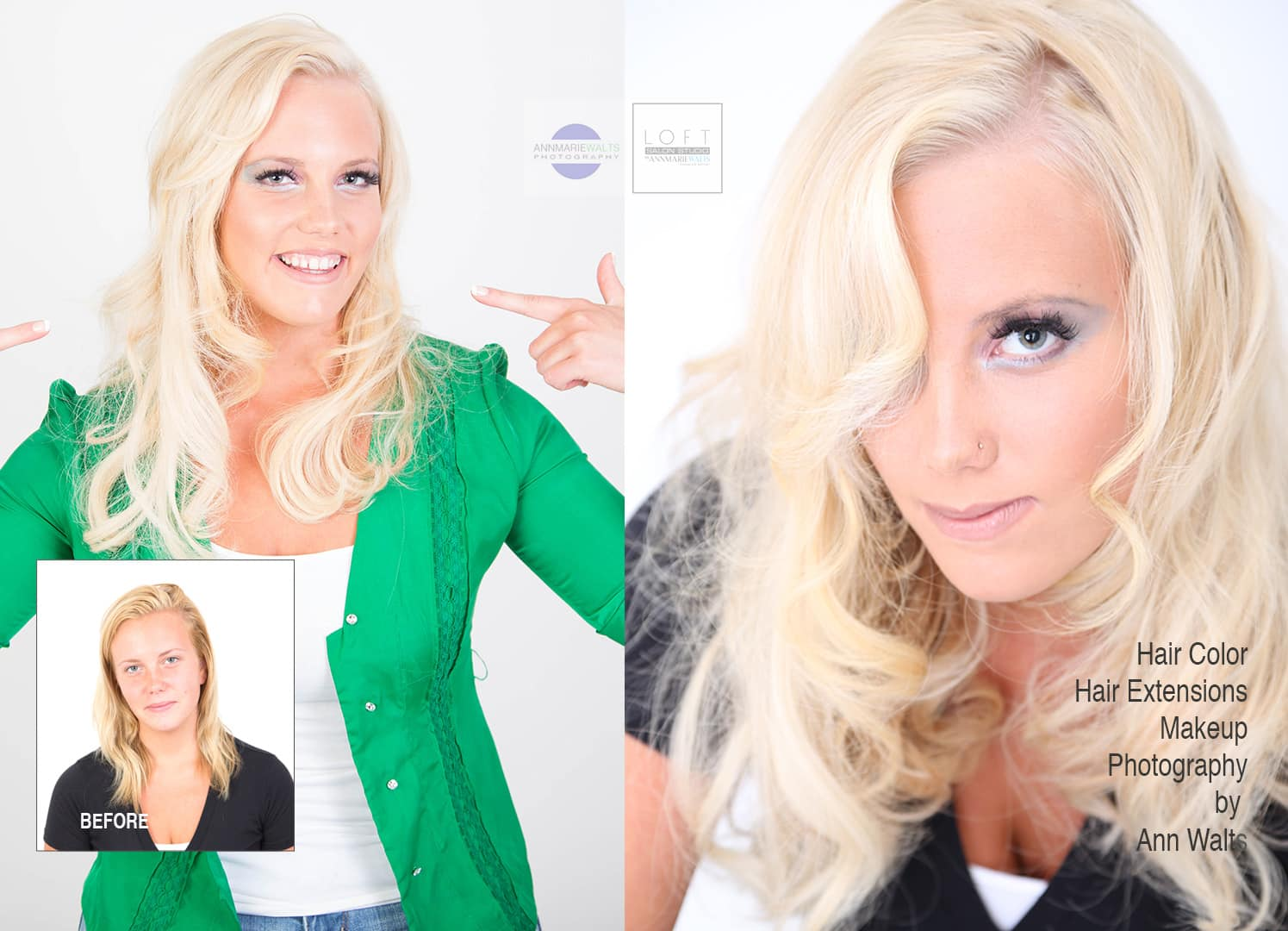 Best Salon For Hair Extensions Headshots